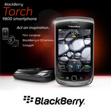 Blackbeery Torch 9800